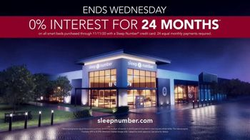 Sleep Number Veterans Day Sale TV Spot, 'Weekend Special: Save $1,000' - Thumbnail 8