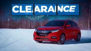 Happy Honda Days Sales Event TV Spot, 'On Clearance: HR-V' [T2] - Thumbnail 4