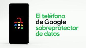 Google Pixel 5 TV Spot, 'Sobreprotector de datos: $599 dólares' [Spanish]