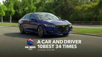2020 Honda Accord TV Spot, 'Which Is Better?: Accord' [T2] - Thumbnail 3