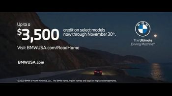 BMW Road Home Sales Event TV Spot, 'Celebrate the Journey Home' Song by Phillip Phillips [T1] - Thumbnail 9