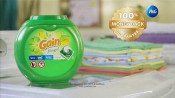 Gain Flings TV Spot, 'Key to Fresh Laundry' - Thumbnail 9