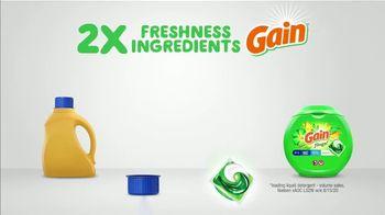 Gain Flings TV Spot, 'Key to Fresh Laundry' - Thumbnail 4