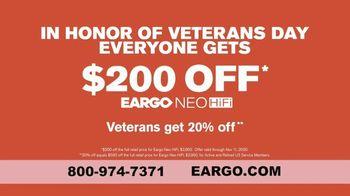 Eargo Veterans Day TV Spot, 'Overheard Something You Wish You Hadn't' - Thumbnail 8