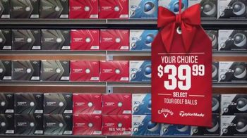 Dick's Sporting Goods TV Spot, 'Holidays: Bikes, Shoes and Golf Balls'