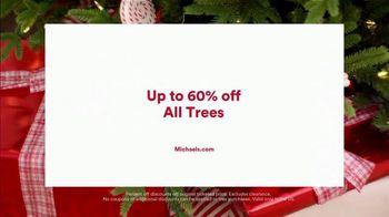 Michaels TV Spot, 'Holidays: 60% Off Trees' - Thumbnail 9
