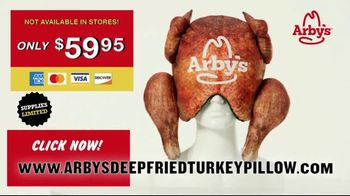 Arby's Deep Fried Turkey Pillow TV Spot, 'Comfortable'