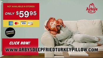 Arby's Deep Fried Turkey Pillow TV Spot, 'Comfortable' - Thumbnail 6