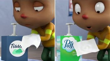 Puffs Plus Lotion TV Spot, 'Fire Department: 50% More' - Thumbnail 8