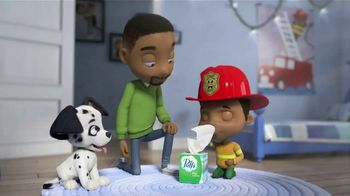 Puffs Plus Lotion TV Spot, 'Fire Department: 50% More'