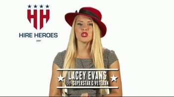Hire Heroes USA TV Spot, 'Meaningful Careers' Featuring Lacey Evans - 6 commercial airings