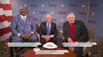 American Heroes: A Salute to Veterans TV Spot, 'Veterans Day: Heartfelt Thanks' Feat. Terry Bradshaw - 50 commercial airings