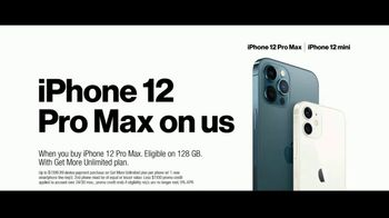 Verizon TV Spot, '5G Just Got Real: iPhone 12 Pro Max & iPhone 12 mini' - Thumbnail 9
