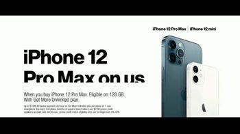 Verizon TV Spot, '5G Just Got Real: iPhone 12 Pro Max & iPhone 12 mini' - Thumbnail 8