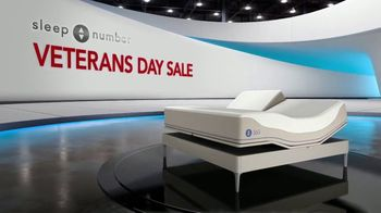 Sleep Number Veterans Day Sale TV Spot, 'Temperature Balance: Weekend Special: Save Up to $700' - Thumbnail 1