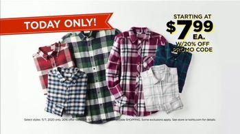 Kohl's Black Friday Deals TV Spot, 'November 7: Bedding, Flannel Tops and Adidas Fleece' - Thumbnail 7