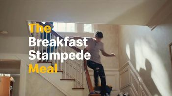 McDonald's $1 $2 $3 Dollar Menu TV Spot, 'Breakfast Stampede: Any Size Coffee'