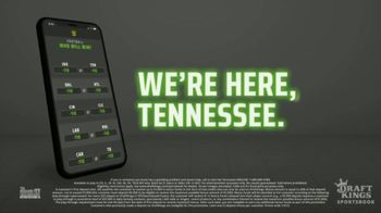 DraftKings Sportsbook TV Spot, 'Tennessee Knows' - Thumbnail 6