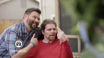 Fisher House Foundation TV Spot, 'Weight Off Shoulders'