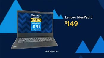 Walmart Black Friday TV Spot, 'Deals for Days: Lenovo IdeaPad 3' - Thumbnail 5