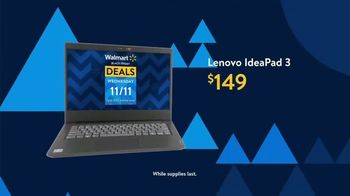 Walmart Black Friday TV Spot, 'Deals for Days: Lenovo IdeaPad 3' - Thumbnail 6