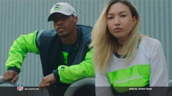 NFL Shop TV Spot, 'Make the Colors Hit: Special Offer' Song by KYLE, K CAMP, Rich the Kid - Thumbnail 5