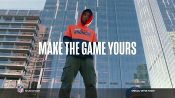 NFL Shop TV Spot, 'Make the Colors Hit: Special Offer' Song by KYLE, K CAMP, Rich the Kid - Thumbnail 8