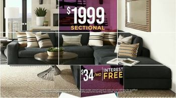 Rooms to Go Holiday Sale TV Spot, 'Living Room, Sectionals and Dining Sets' - Thumbnail 5
