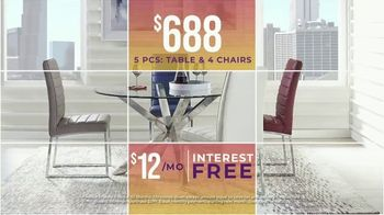 Rooms to Go Holiday Sale TV Spot, 'Living Room, Sectionals and Dining Sets' - Thumbnail 7