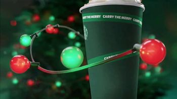 Starbucks Caramel Brulee Latte TV Spot, 'Holiday Lights' - Thumbnail 3