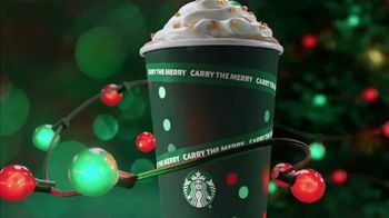 Starbucks Caramel Brulee Latte TV Spot, 'Holiday Lights'