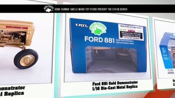 Le Mars Toy Store TV Spot, '2020 Fall Premier Commemorative Tractor: Ford 881 Gold Demonstrator' - Thumbnail 5