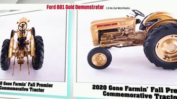 Le Mars Toy Store TV Spot, '2020 Fall Premier Commemorative Tractor: Ford 881 Gold Demonstrator' - Thumbnail 6