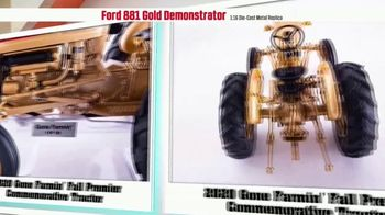 Le Mars Toy Store TV Spot, '2020 Fall Premier Commemorative Tractor: Ford 881 Gold Demonstrator' - Thumbnail 7