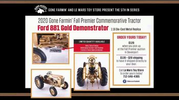 Le Mars Toy Store TV Spot, '2020 Fall Premier Commemorative Tractor: Ford 881 Gold Demonstrator' - Thumbnail 8