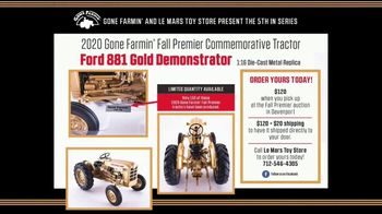Le Mars Toy Store TV Spot, '2020 Fall Premier Commemorative Tractor: Ford 881 Gold Demonstrator' - Thumbnail 9