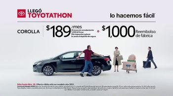 Toyota Toyotathon TV Spot, 'Suegra' [Spanish] [T2] - Thumbnail 1
