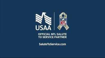 USAA TV Spot, 'Salute to Service: Aaron Jones' - Thumbnail 9
