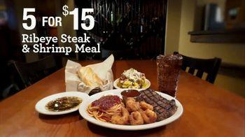 Johnny Carino's Ribeye Steak & Shrimp Meal Italian TV Spot, 'Thanksgiving Day' - Thumbnail 7