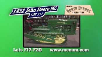 Mecum Gone Farmin' 2020 Fall Premier TV Spot, 'Four Tractors From the North Dakota Collection' - Thumbnail 4