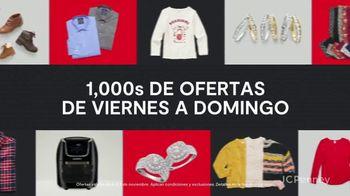 JCPenney Adelantos de Black Friday TV Spot, 'Electrónicos de cocina y suéteres' [Spanish] - Thumbnail 4