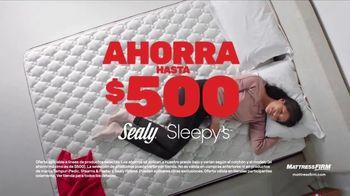 Mattress Firm Venta Anticipada de Black Friday TV Spot, 'Colchón Sealy' [Spanish] - Thumbnail 1