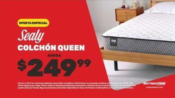 Mattress Firm Venta Anticipada de Black Friday TV Spot, 'Colchón Sealy' [Spanish] - Thumbnail 4