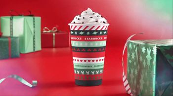 Starbucks Peppermint Mocha TV Spot, 'Carry the Merry'