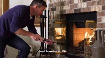 Creosote Sweeping Log TV Spot, 'So Easy to Clean Your Chimney' - Thumbnail 1