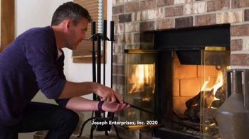 Creosote Sweeping Log TV Spot, 'So Easy to Clean Your Chimney'