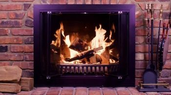 Creosote Sweeping Log TV Spot, 'So Easy to Clean Your Chimney' - Thumbnail 3