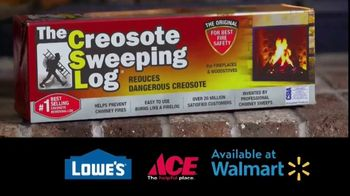Creosote Sweeping Log TV Spot, 'So Easy to Clean Your Chimney' - Thumbnail 5