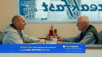 Providence Health & Services Medicare Advantage Plans TV Spot, 'David and Lou'