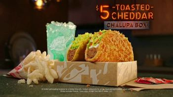 Taco Bell $5 Toasted Cheddar Chalupa Box TV Spot, \'In This Box\'